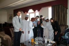Artisti Omaniti e Italiani e rappresentanti politici