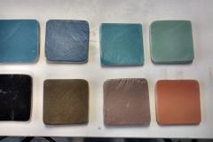 prova pigmenti ceramici