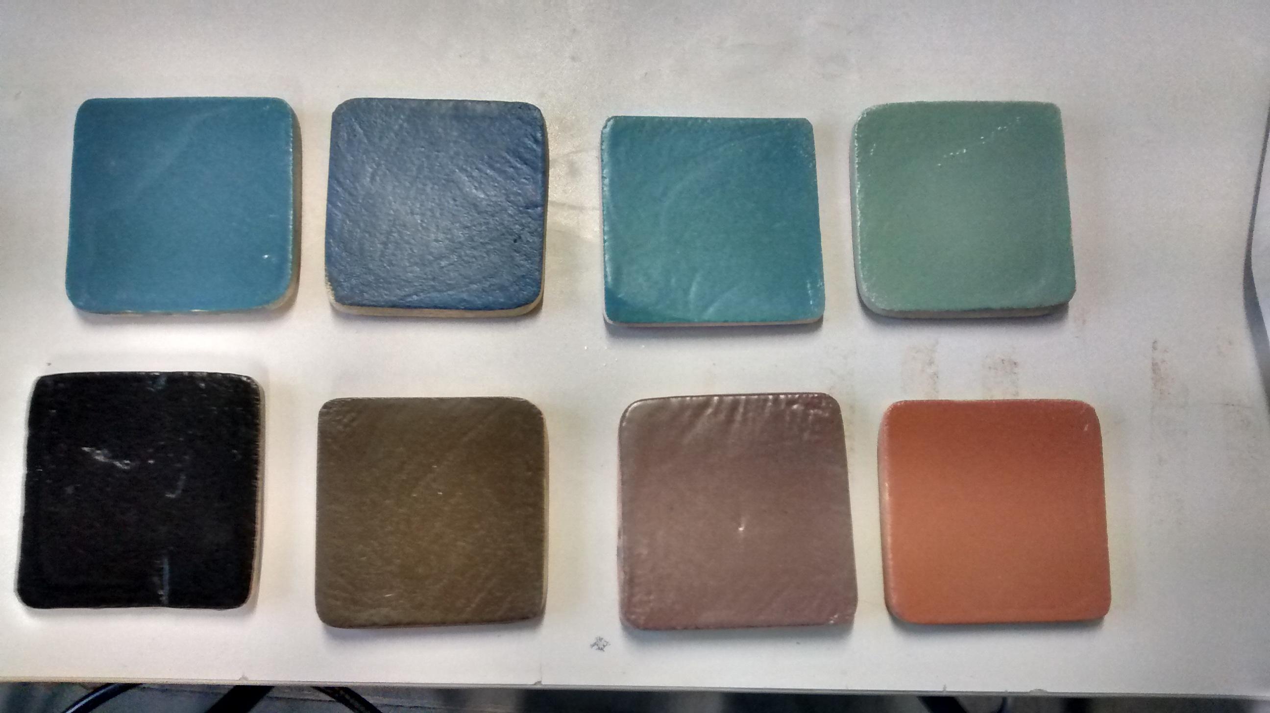 pigments colors test
