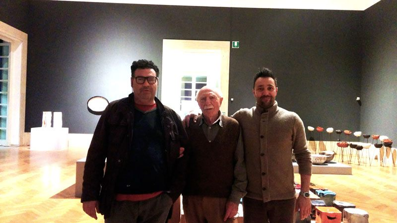 8National Gallery of Modern Art Rome evolution 15.3 interactive ceramic panel by boccini nicola