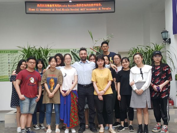 Hongyu school Beijing, corso di design ceramico, 2018