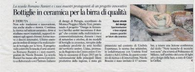 Design in fermento Corriere dell'umbria
