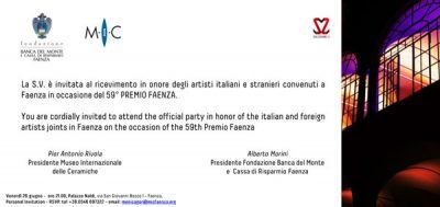 Invite Faenza 26 June