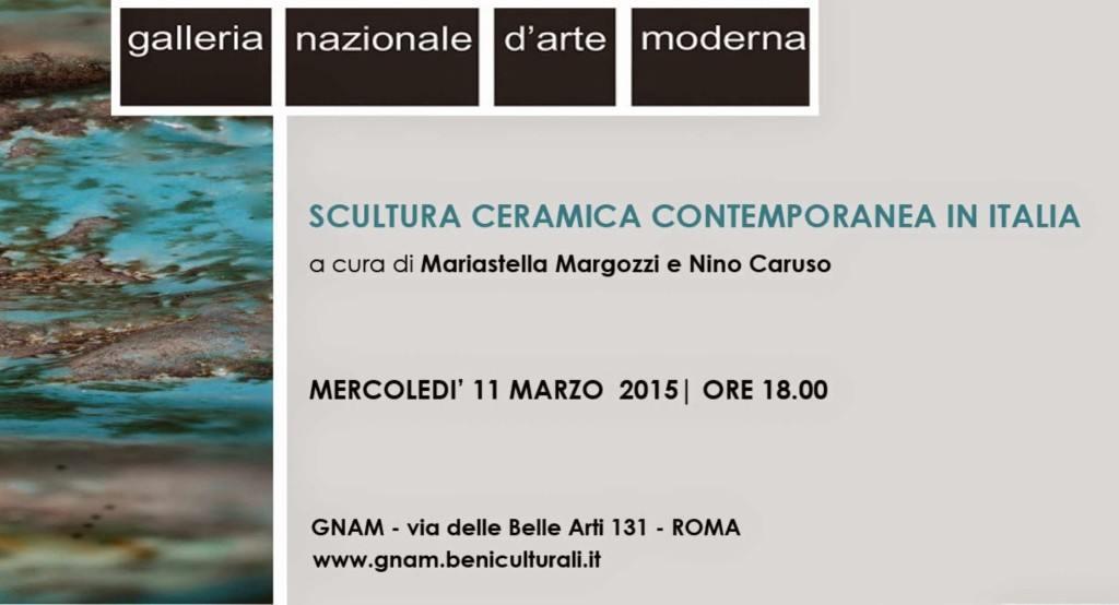 Gnam ceramica contemporane roma