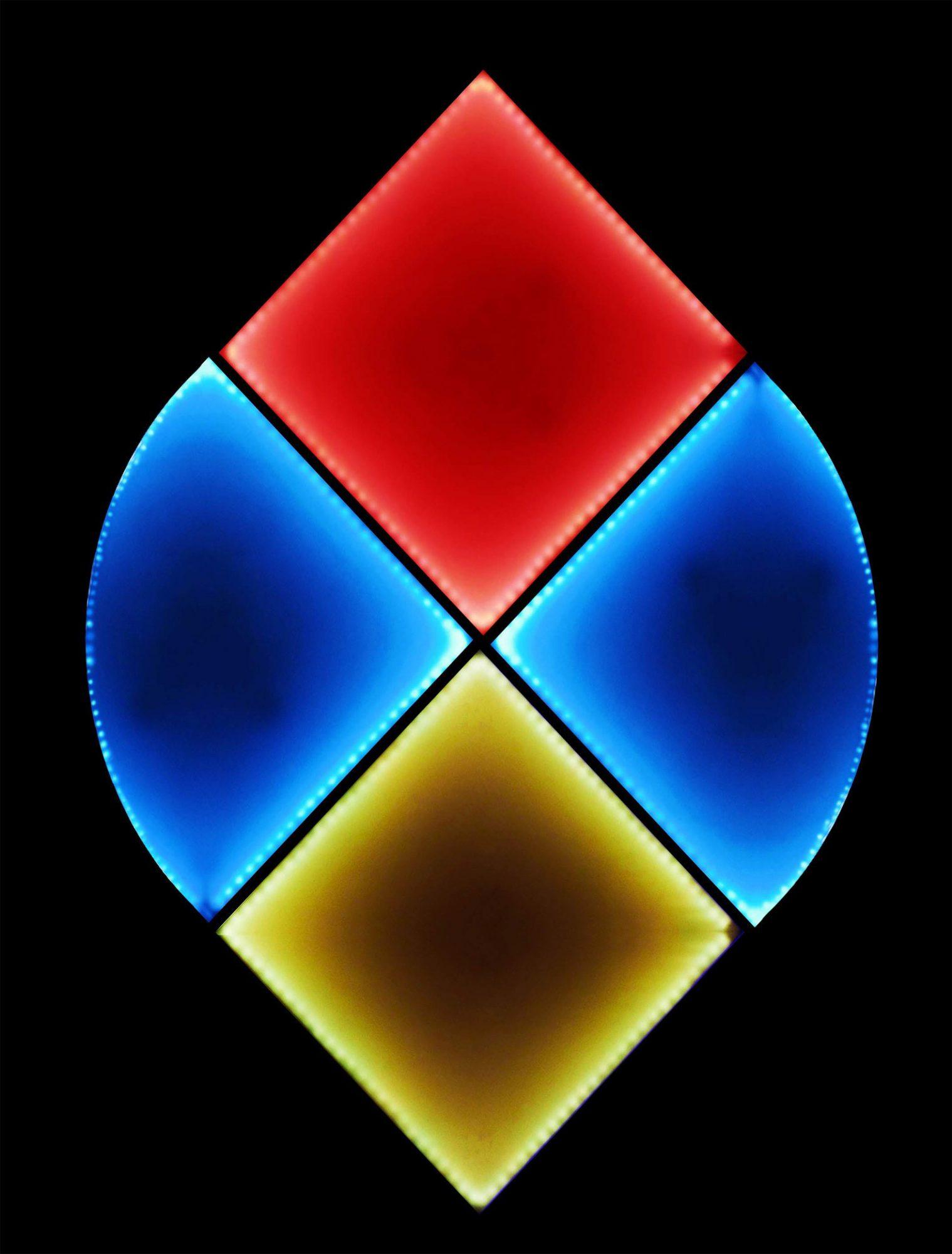 luce e forma kernel light art ceramica