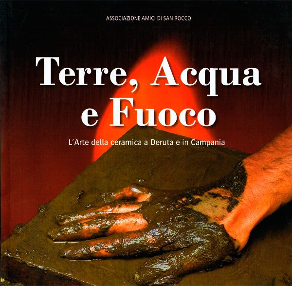 "Nicola Boccini, ceramic art exhibition "" Terra Acqua Fuoco"" Sorrento Italy"