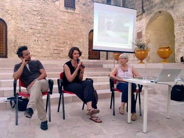 nicola boccini, claudia casali, silvia imperiale art ceramic conference