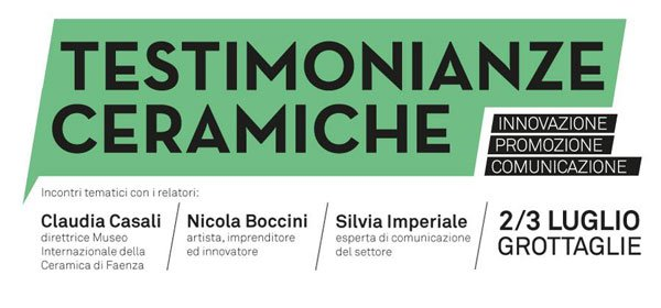"nicola boccini, ceramic conference on grottaglia at ceramic museum ""testimonianze ceramiche"""