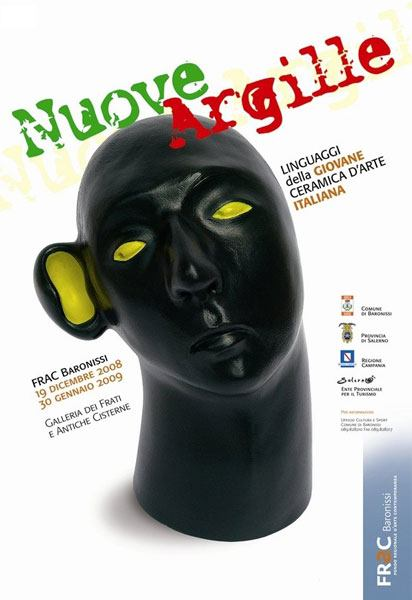 "Nicola Boccini, ceramic art exhibition "" Nuove Argille"""