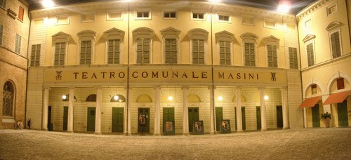 Italian Artist Nicola Boccini at teatro-masini faenza
