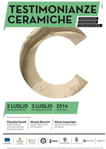 Nicola Boccini, Conference ceramics
