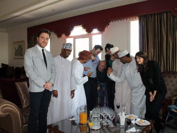 Dov'è finito Marino? Gli artisti Italiani e quelli Omaniti, ambasciata Italiana in Oman 2013