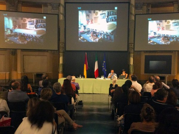 "Conference at ""Casa dell'Architettura"" Rome"