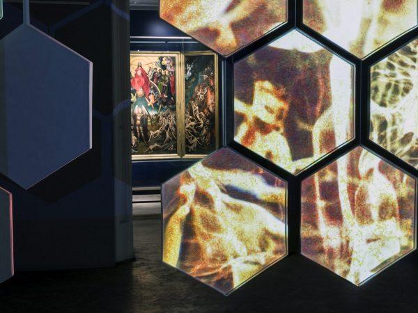 Faccia a Faccia, Memling - Boccini. Il Giudizio Universale, opera multimediale ed interattiva, Museo Nazionale di Danzica, Polonia. 2017