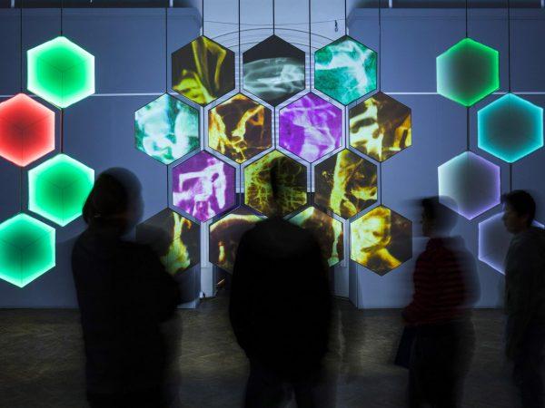 Il Giudizio Universale, opera multimediale ed interattiva, Museo Nazionale di Danzica, Polonia, 2017