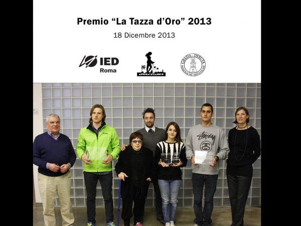 """IED Roma, U.Grazia Deruta e la Tazza d'Oro Roma per il   """"Premio la tazza d'Oro"""" 2013"""